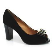 Sapato Peep Toe Feminino Cazzualen