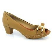 Sapato Peep Toe Feminino Suzzara