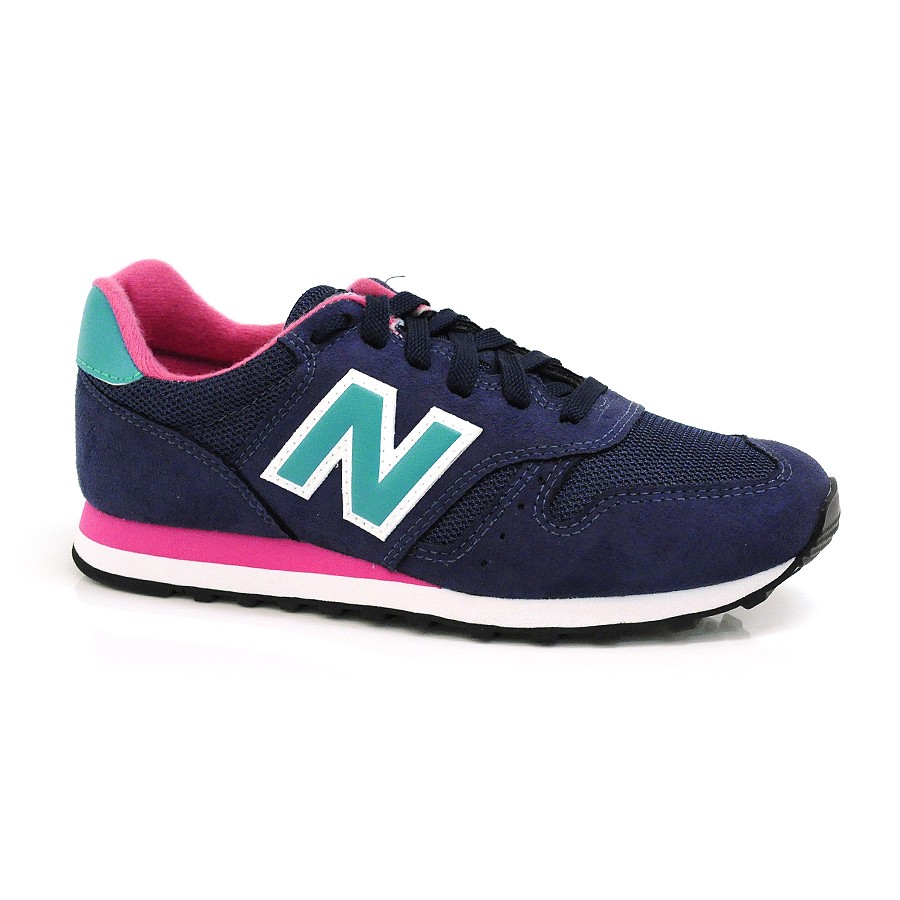 new balance rosa azul